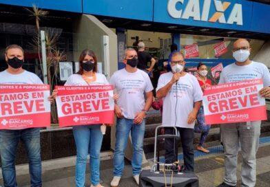 Chineses doam R$ 1,7 milhão para sindicatos e funcionários da CEF entram em greve
