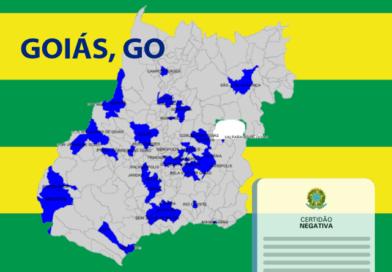 Somente 10% dos municípios do estado de Goiás possuem as certidões em dia e estão aptos para receber recursos Federais.