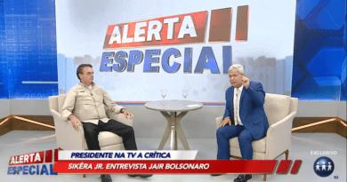 Entrevista Bolsonaro com Sikeira Junior