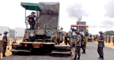 Exército Brasileiro entrega 86 obras de infraestrutura em 2020
