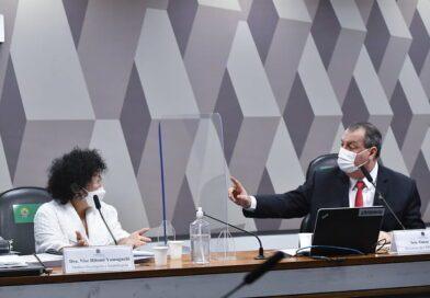 Senador Omar Aziz, diz que Dra. Nise está errada