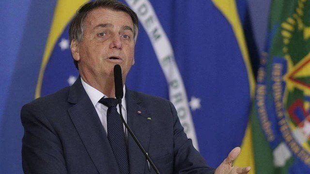 O presidente Jair Bolsonaro em evento no Palácio do Planalto Foto: Cristiano Mariz