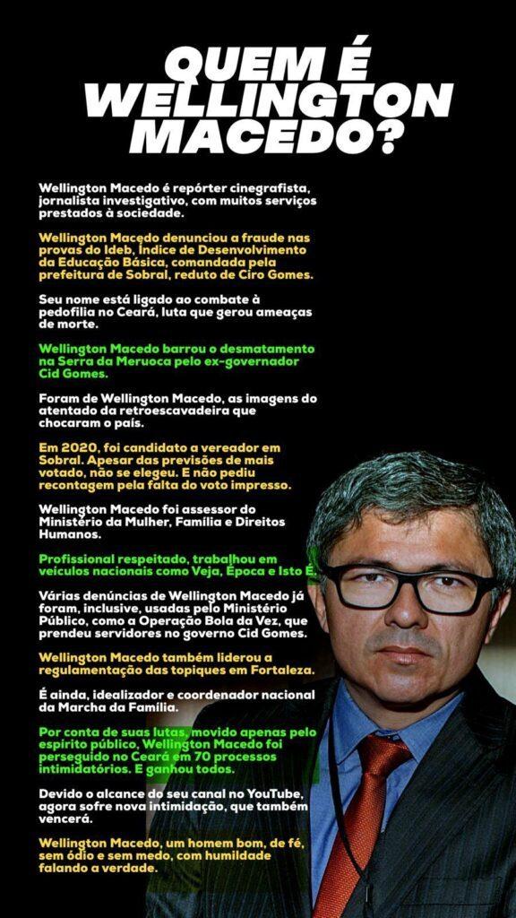 Quem é Wellington Macedo, preso por ordem do Ministro Alexandre de Moraes (STF)